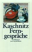 Cover-Bild zu Ferngespräche von Kaschnitz, Marie Luise