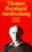 Cover-Bild zu Auslöschung von Bernhard, Thomas