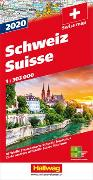 Cover-Bild zu Schweiz 2020 Strassenkarte 1:303 000. 1:303'000 von Hallwag Kümmerly+Frey AG (Hrsg.)