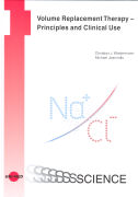 Cover-Bild zu Volume Replacement Therapy - Principles and Clinical Use von Wiedermann, Christian J.