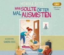 Cover-Bild zu Man sollte öfter mal ausmisten von Bittl, Monika