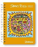 Cover-Bild zu James Rizzi 2022 - Diary - Buchkalender - Taschenkalender - Kunstkalender - 16,5x21,6