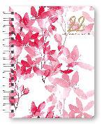 Cover-Bild zu Glamour Planner Pink Flowers 2022 - Diary - Buchkalender - Taschenkalender - 16,5x21,6