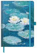 Cover-Bild zu Claude Monet 2022 - Buchkalender - Taschenkalender - Kunstkalender - 16x22