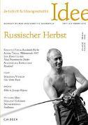 Cover-Bild zu Hacke, Jens (Hrsg.): Zeitschrift für Ideengeschichte Heft X/3 Herbst 2016