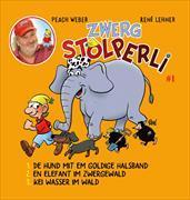 Cover-Bild zu Zwerg Stolperli - De Hund mit em goldige Halsband von Weber, Peach