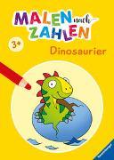 Cover-Bild zu Malen nach Zahlen ab 3 Jahren: Dinosaurier