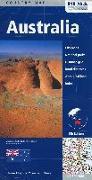 Cover-Bild zu Australia. 1:4'500'000 / 1:4'500'000