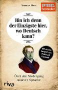 Cover-Bild zu Bin ich denn der Einzigste hier, wo Deutsch kann?