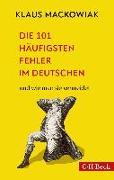 Cover-Bild zu Die 101 häufigsten Fehler im Deutschen
