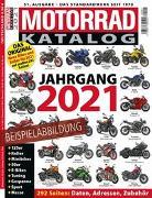 Cover-Bild zu Motorrad-Katalog 2021