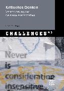 Cover-Bild zu Job, Ulrike (Hrsg.): Kritisches Denken (eBook)