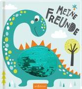 Cover-Bild zu Meine Freunde - Dinos (mit Wendepailletten)