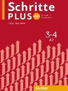 Cover-Bild zu Schritte plus Neu 3+4. Testtrainer mit Audio-CD von Giersberg, Dagmar