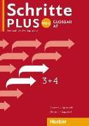 Cover-Bild zu Schritte plus Neu 3+4. Glossar Deutsch-Spanisch - Glosario Alemán-Español