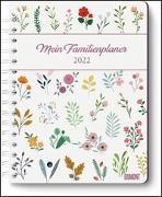 Cover-Bild zu Mein Familienplaner-Buch Lovely Flowers 2022 - Buch-Kalender - Praktisch, zum Mitnehmen - mit 5 Spalten und vielen Zusatzseiten