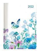 Cover-Bild zu Minitimer Style Blumenwiese 2022 - Taschen-Kalender A6 - Weekly - 192 Seiten - Notiz-Buch - mit Info- und Adressteil - Alpha Edition