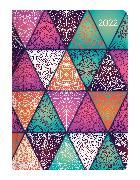 Cover-Bild zu Ladytimer Oriental Pattern 2022 - Taschenkalender A6 (11x15 cm) - Weekly - 192 Seiten - Notiz-Buch - Termin-Planer - Alpha Edition