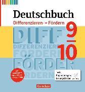 Cover-Bild zu Deutschbuch 9./10. Schuljahr. Fördermaterial. Neubearbeitung. Differenzieren und Fördern. Fördermaterialien mit CD-ROM von Biskupek, Laura