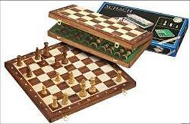 Cover-Bild zu De Luxe Schachkassette - Feld 40 mm