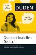 Cover-Bild zu Grammatiktabellen Deutsch von Dudenredaktion (Hrsg.)