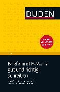 Cover-Bild zu Duden Ratgeber - Briefe und E-Mails gut und richtig schreiben (eBook) von Dudenredaktion