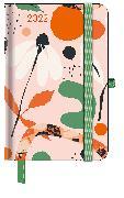 Cover-Bild zu GreenLine Diary Floral 2022 - Buchkalender - Taschenkalender - 10x15