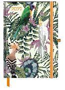 Cover-Bild zu GreenLine Diary Jungle 2022 - Buchkalender - Taschenkalender - 16x22