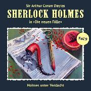 Cover-Bild zu Sherlock Holmes, Die neuen Fälle, Fall 9: Holmes unter Verdacht (Audio Download) von Niemann, Eric