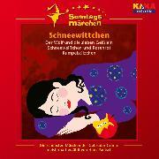 Cover-Bild zu Grimm, Wilhelm Carl: Schneewittchen / Der Wolf und die sieben Geißlein / Schneeweißchen und Rosenrot / Rumpelstilzchen (KI.KA Sonntagsmärchen) (Audio Download)