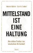 Cover-Bild zu Mittelstand ist eine Haltung von Kübler, Heiner