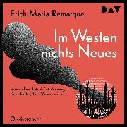 Cover-Bild zu Remarque, Erich Maria: Im Westen nichts Neues (Audio Download)