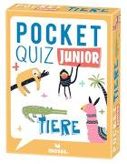 Cover-Bild zu T & T media world - Die Ideealisten: Pocket Quiz junior Tiere