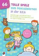 Cover-Bild zu 66 tolle Spiele zum Deutschlernen in der Kita von Wilkening, Nina