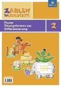 Cover-Bild zu Zahlenwerkstatt 2. Übungsformen zur Differenzierung. Poster