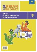 Cover-Bild zu Zahlenwerkstatt 1. Übungsformen zur Differenzierung. Poster