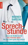 Cover-Bild zu Bartens, Werner: Sprechstunde