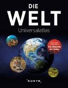 Cover-Bild zu Die Welt - Universalatlas von KUNTH Verlag GmbH & Co. KG