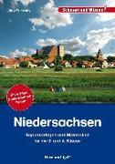 Cover-Bild zu Niedersachsen. Kopiervorlagen und Materialien von Wilkening, Nina