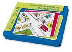 Cover-Bild zu Bildkarten zur Sprachförderung: In der Stadt von Boretzki, Anja (Illustr.)