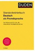 Cover-Bild zu Duden - Deutsch als Fremdsprache - Standardwörterbuch von Dudenredaktion