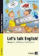 Cover-Bild zu Let's talk English! (eBook) von Büttner, Patrick