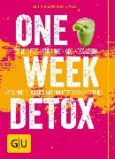 Cover-Bild zu One Week Detox (eBook) von Palmcrantz Aziz, Erica