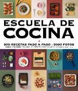 Cover-Bild zu Varios autores: Escuela de cocina (edición actualizada): 500 recetas paso a paso - 3000 fotos