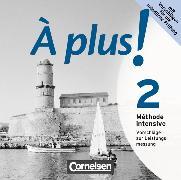 Cover-Bild zu À plus! 2. Méthode intensive. Vorschläge zur Leistungsmessung. CD-Extra von Mann-Grabowski, Catherine