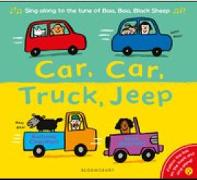 Cover-Bild zu Charman, Katrina: Car, Car, Truck, Jeep
