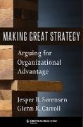 Cover-Bild zu Making Great Strategy (eBook) von Carroll, Glenn R.