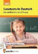 Cover-Bild zu Heiß, Helena: Lesetests in Deutsch - Lernzielkontrollen 2. Klasse, A4- Heft