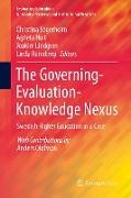 Cover-Bild zu The Governing-Evaluation-Knowledge Nexus von Segerholm, Christina (Hrsg.)