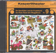 Cover-Bild zu De Seeräuber und de Pudelhund / De Flick-Flack bim Wegglibeck. CD von Torelli, Ines (Gelesen)